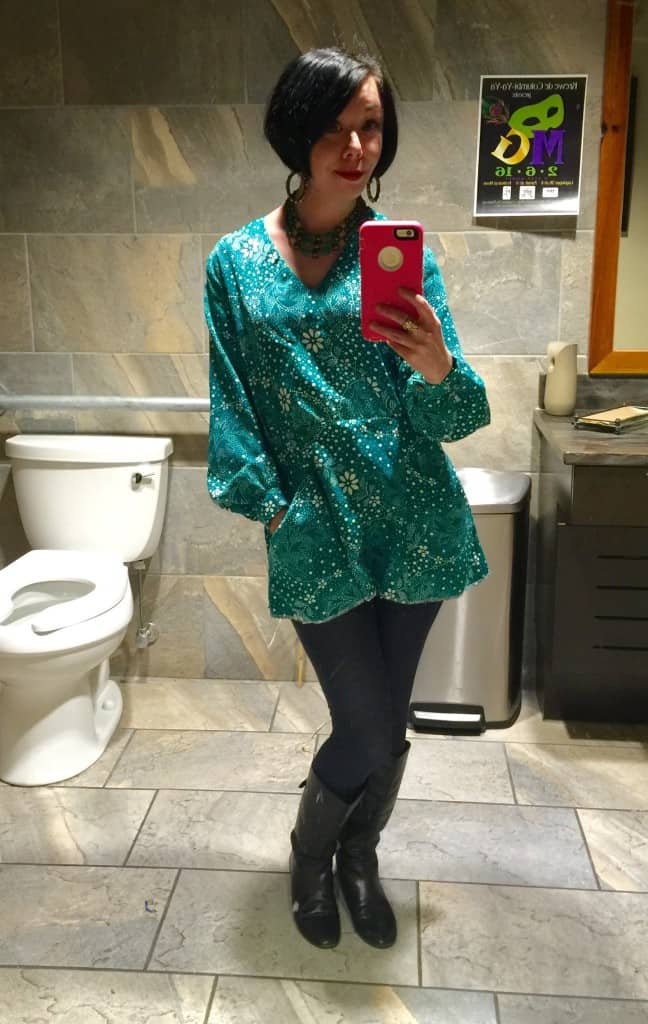 dress to top refashion after