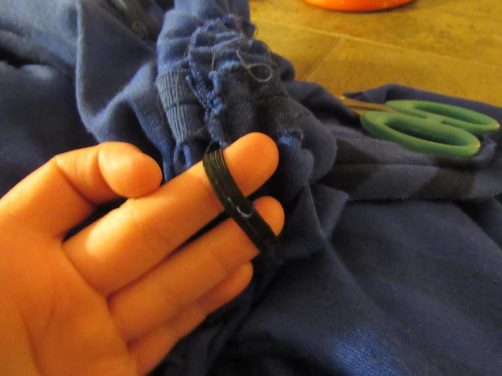 removing elastic