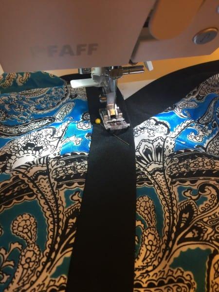 sewing neckline