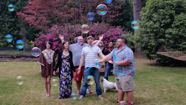 Did I mention we had bubbles? Let me reiterate that.