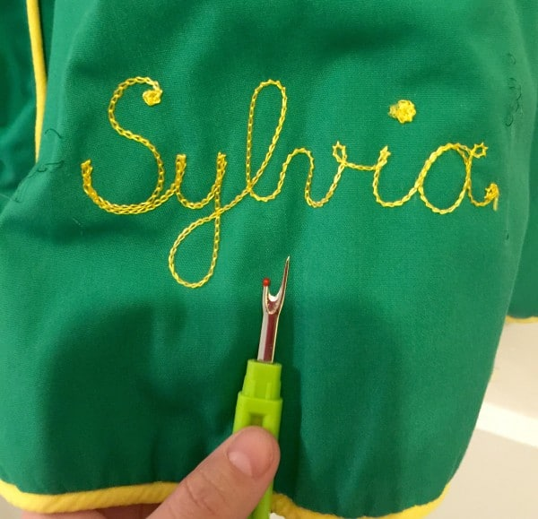 I shall be Sylvia for the day!