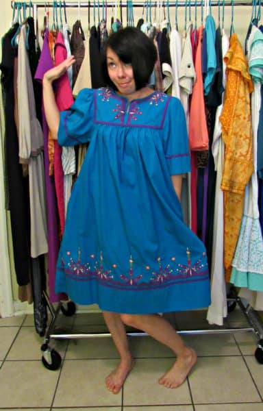 Helluu MuuMuu! A MuuMuu to Top Refashion 2
