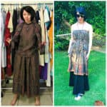 From 3 to 1: An Easy No-Sew Skirt to Dress Refashion