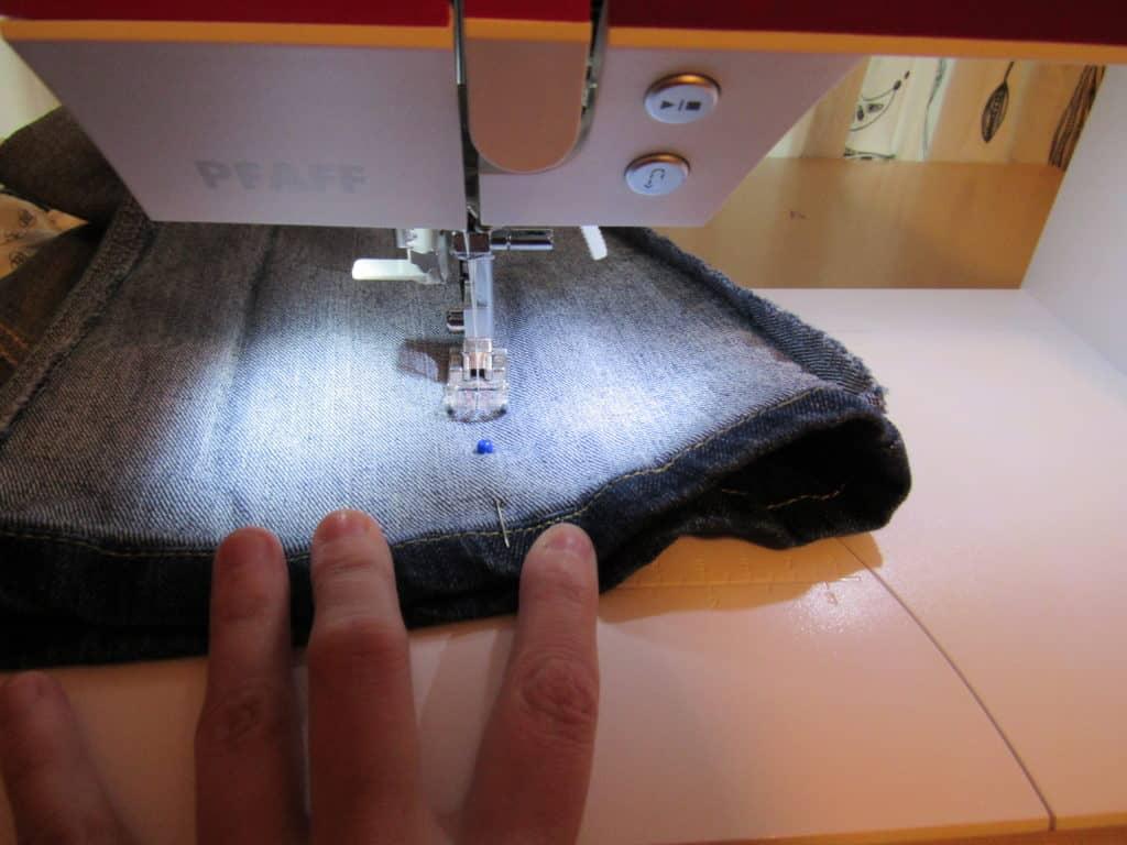 sewing pant leg