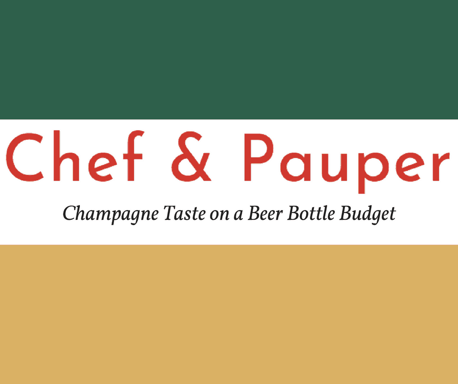 My New Blog: Chef & Pauper 1
