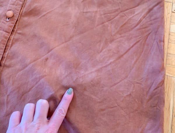 refashionista dye uneven