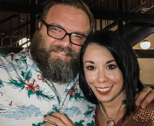 Refashionista Jillian and husband Brian