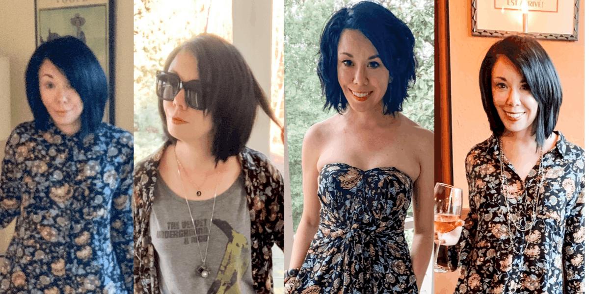 One Dress, Three Ways: 90's Babydoll Dress Refashion Edition 1