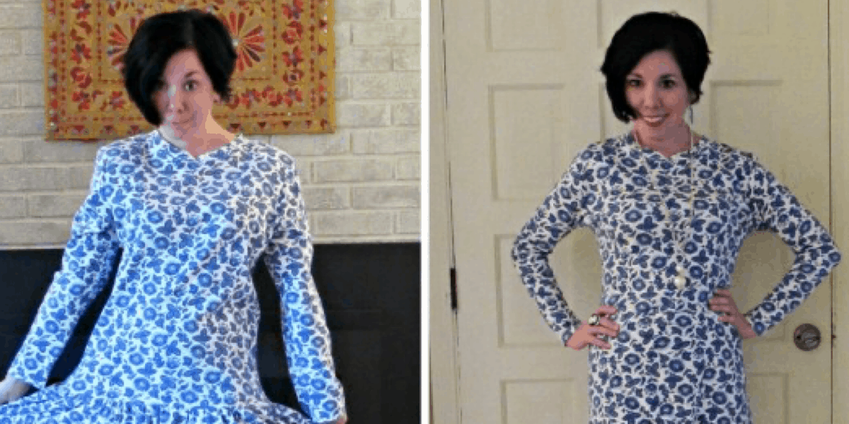 From 80's Dropped Waist to '18 Good Taste: A Refashion 2