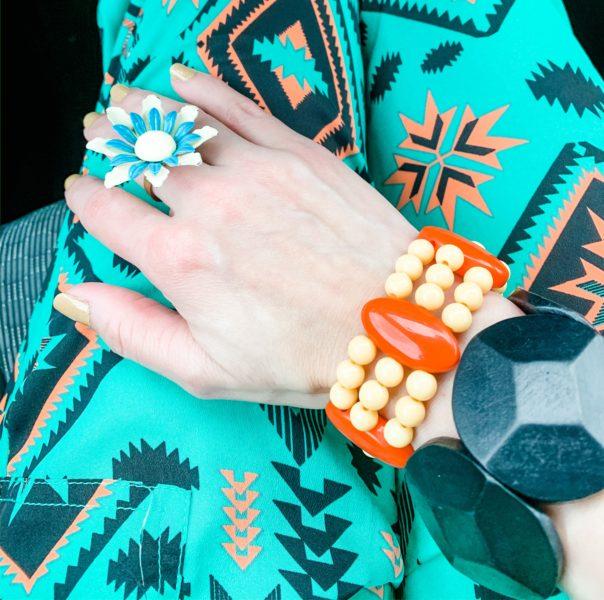 thrift store style refashionista accessories