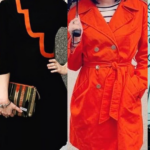 Thrift Store Style: Try a Pop of Orange!