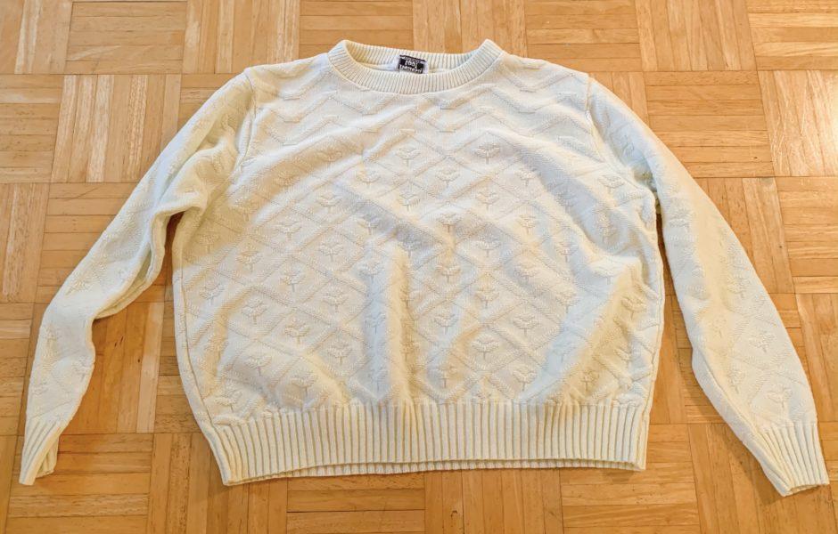 refashionista sweater