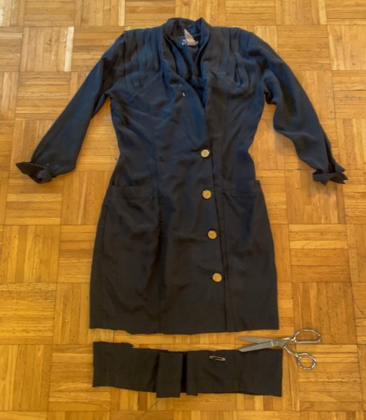 refashionista dress refashion