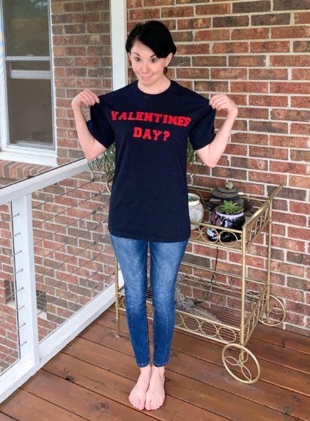 refashionista valentines day tshirt