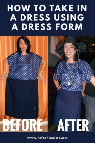 refashionista polka dot dress pinterest