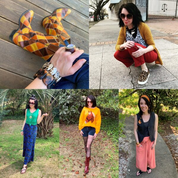thrift store style refashionista unique looks