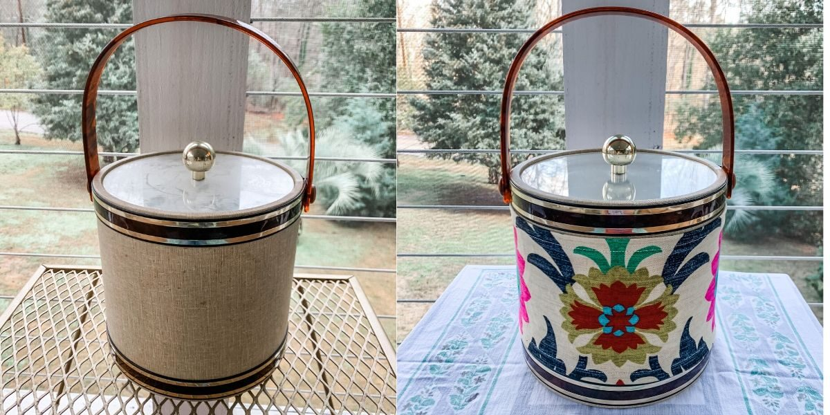 A DIY Ice Bucket Upcycle to Match Your Decor! 3