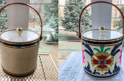 A DIY Ice Bucket Upcycle to Match Your Decor! 5