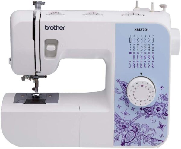 Best Sewing Machine for Beginners, Brother XM2701 Lightweight Sewing Machine, White