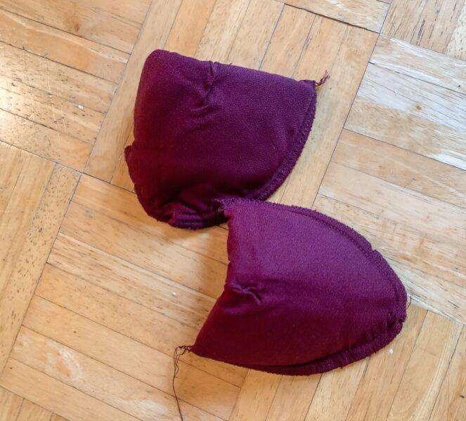 refashionista removed shoulder pads