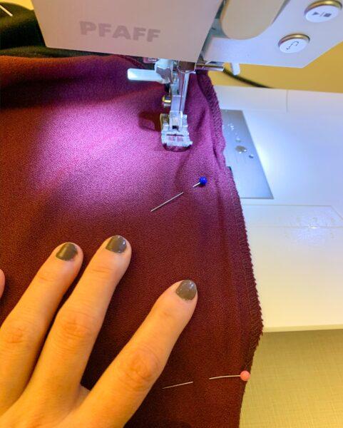 refashionista refashion taking in sewing