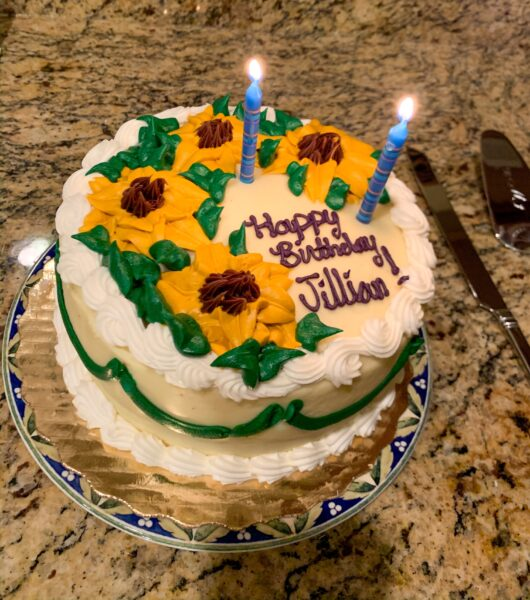 Jillian Refashionista birthday cake