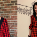 A Rad Plaid Refashion: How to Take In a Dress From the Front 4