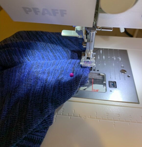 refashionista sewing neck for diy tie back top