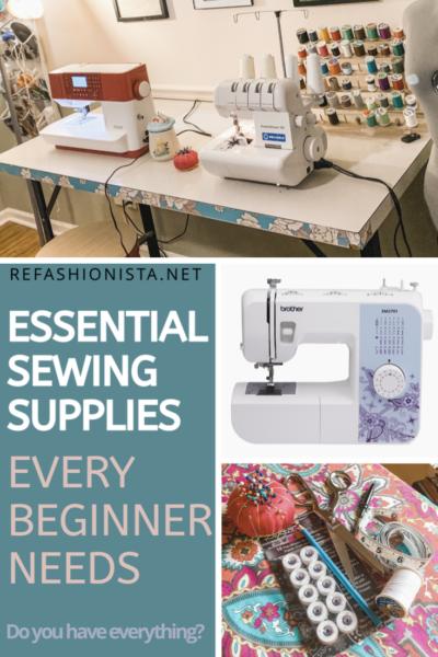 Essential Sewing Supplies Every Beginner Needs