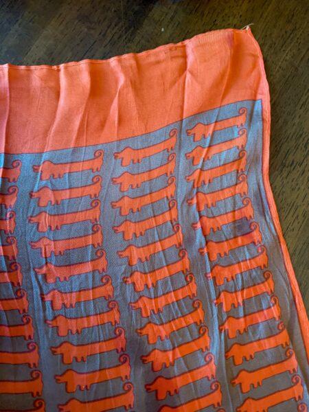 thrift store style ReFashionista vintage scarf