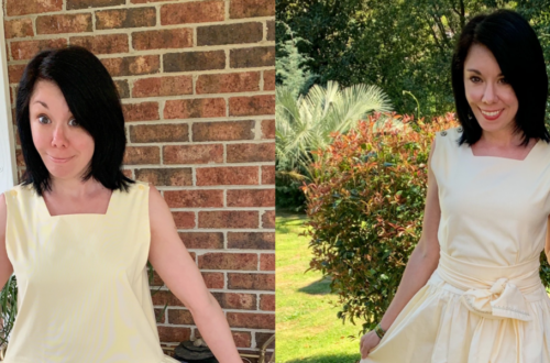 An '80s Jumper to '50s-Inspired Dress Refashion 6