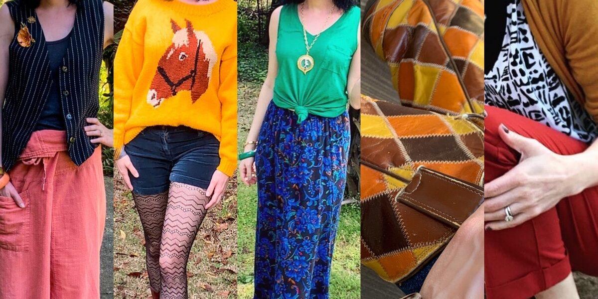 thrift store style unique pieces