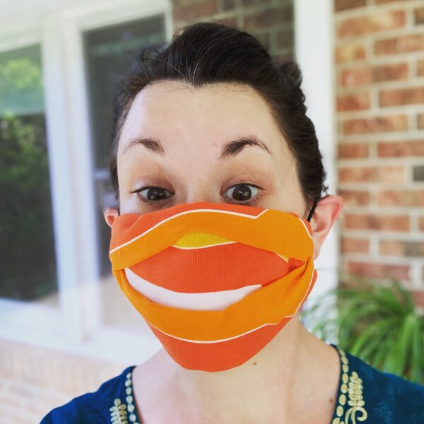 DIY No-Sew Pleated Face Mask