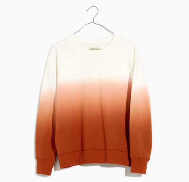 Madewell Dip Dyed Sweater
