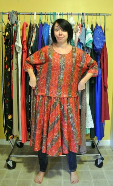 An Easy Dress to Skirt Refashion 2