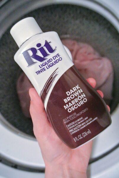 Dark brown rit dye for refashion