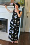a dress refashion with a pocket before