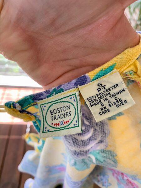 fabric content label