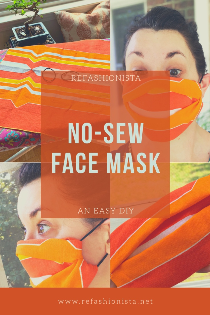 How to Make a No-Sew Face Mask 2