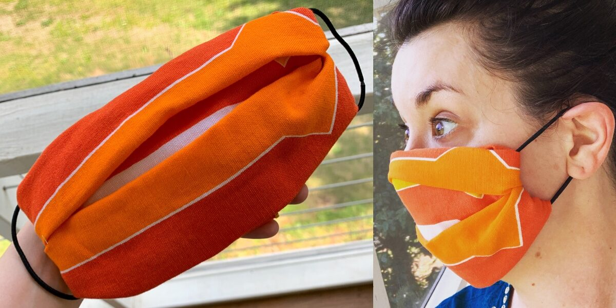 How to Make a No-Sew Face Mask 1