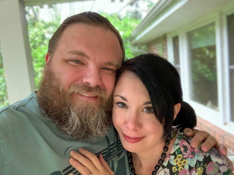 Jillian and Brian closeup