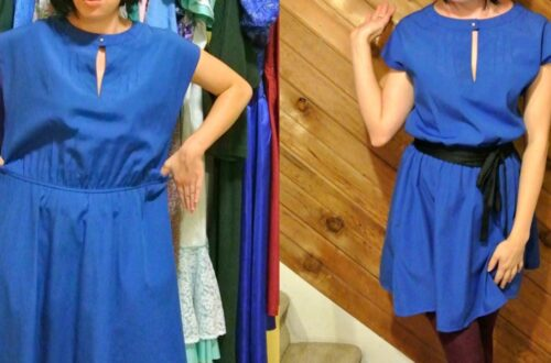 A New Blue Dress ReFashion! 7