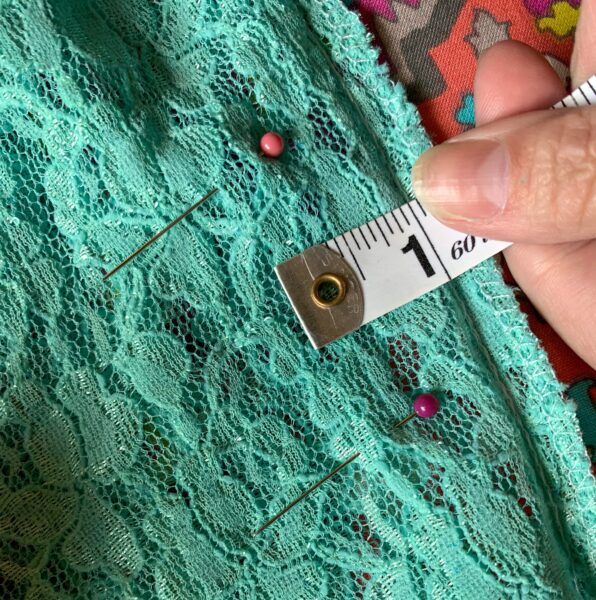 measuring dress for alterations