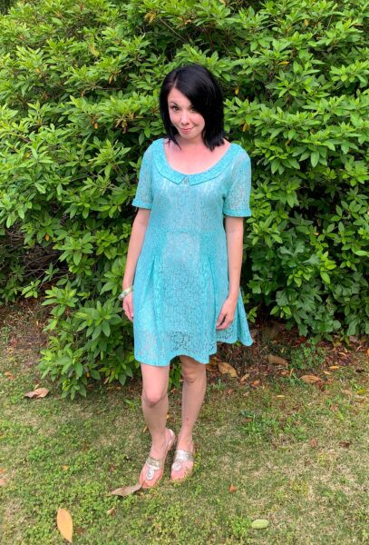 refashionista how to dye a lace dress after