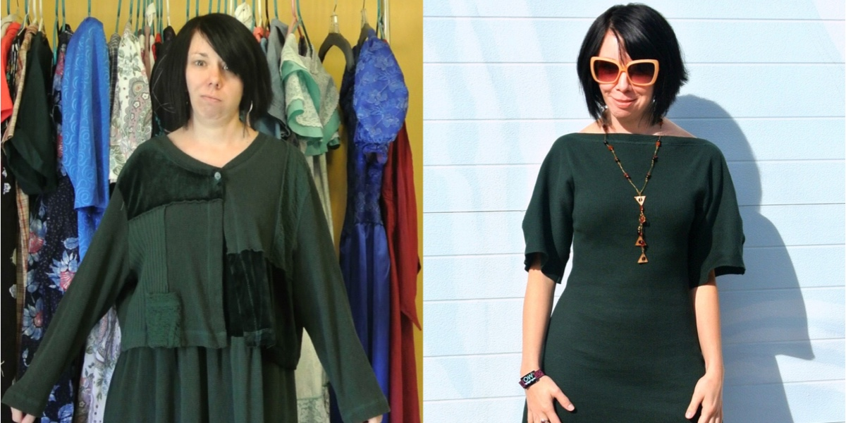 Trace & Stitch Dress Refashion 1