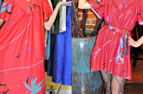 December in the South: A Muumuu to Dress Refashion 5