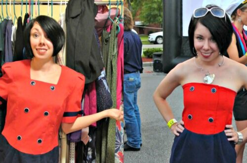 Yacht Rock Dress Refashion 6