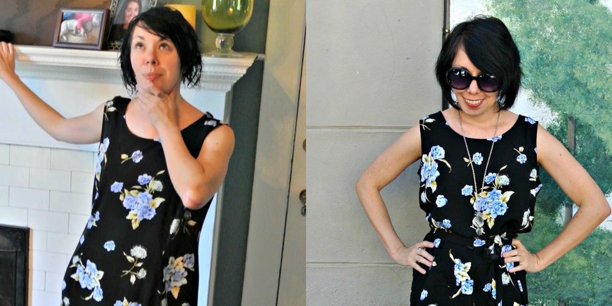 Athens Excursion Dress Refashion (With a Pocket!) 1