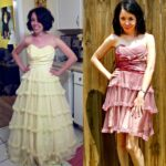 Day 366:  The End? A Wedding Dress Refashion 1