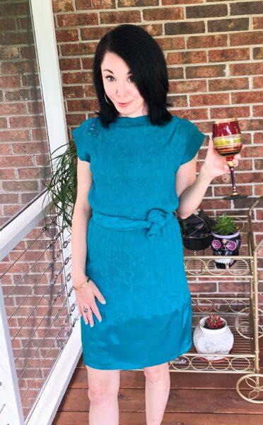 Upside-Down Dress Refashion After